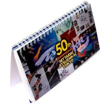 high quality factory price 3D Lenticular Printing office table calender desk calender wall calender