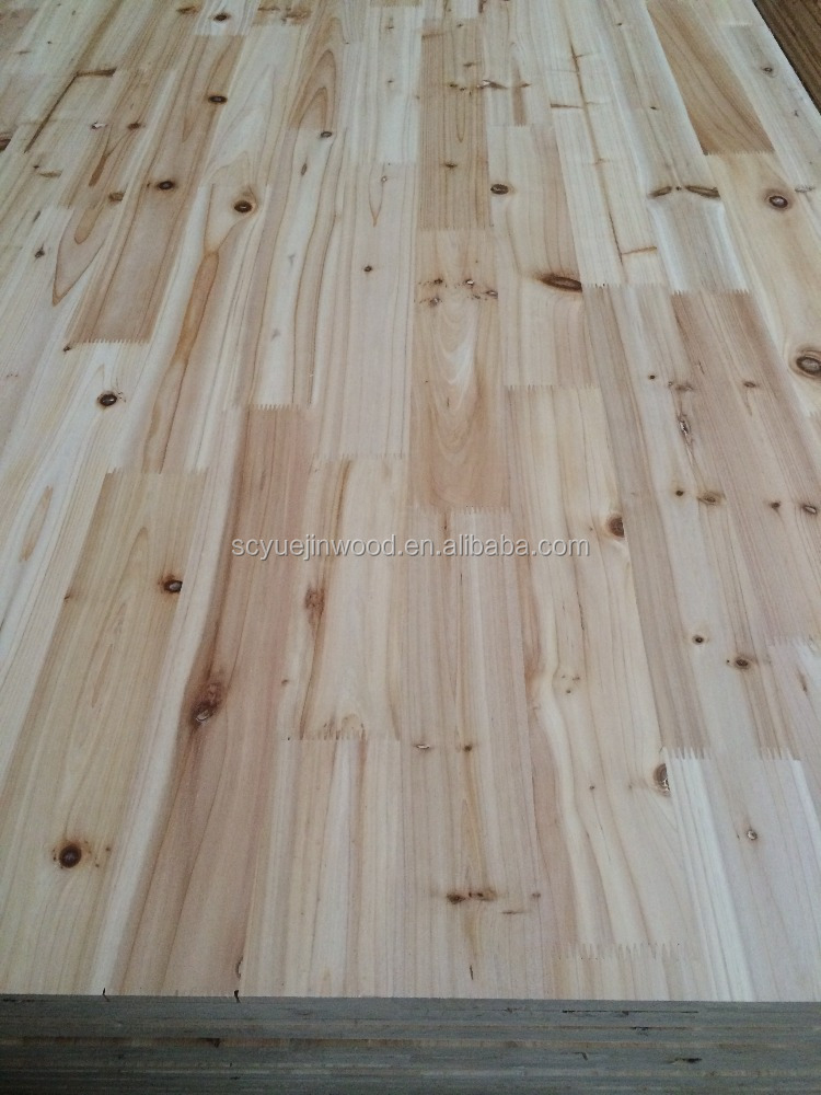fir/cedar/spruce wood finger joint laminnated board for decoration