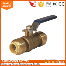 GutenTop quick connector Low Pressure galvanized italy Ball Valve
