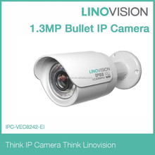 1.3MP HD Network Mini IR Bullet IP Camera support poe, IR LED, IP66, ICR day/night PAL/NTSC Optional