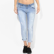 OEM damaged jeans new model pants jeans women can have your own design