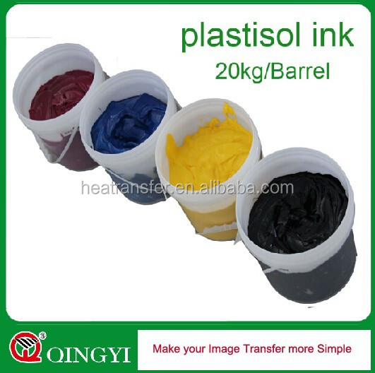 Qingyi hight quality textile screen printing ink
