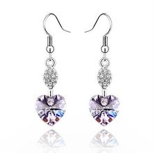 (060892) 2011 high quality platinum earrings