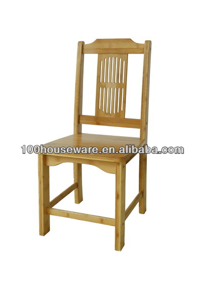 Bamboo dining high back chair
