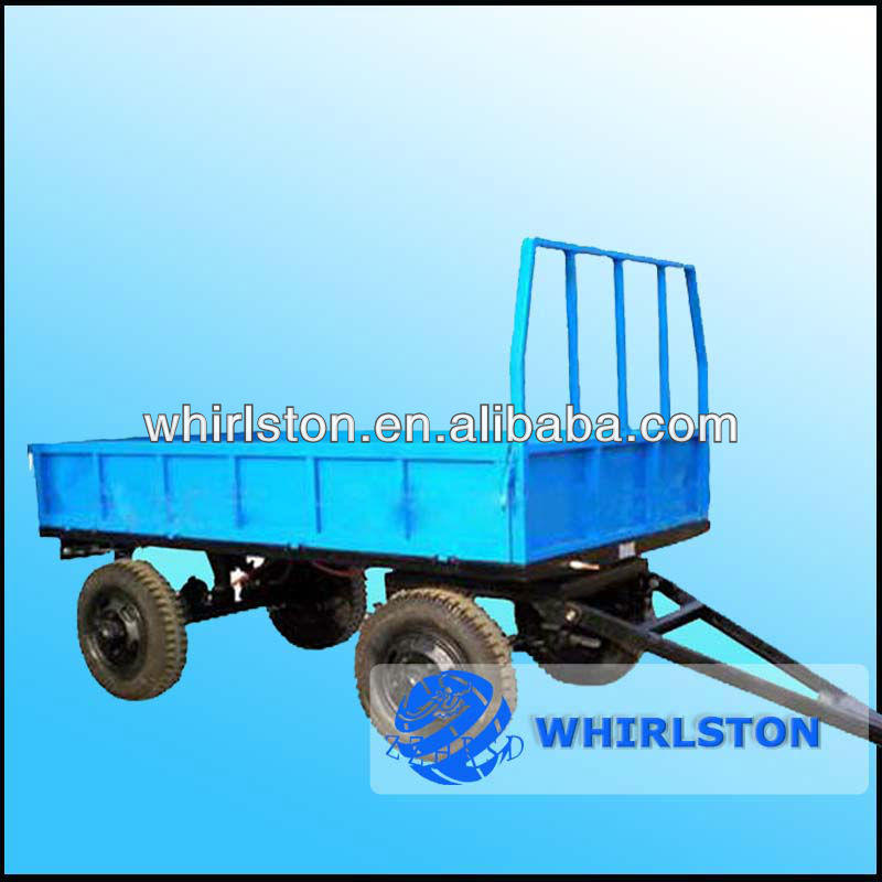 Whirlston agricultural tractor hydraulic dump trailer