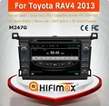 HIFIMAX Android 4.4.4 automobile dvd gps for Toyota RAV4 2013 car navigation for Toyota RAV4 2013 with car accessories