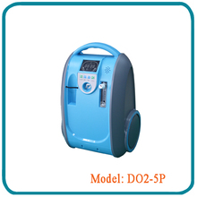 Battery operated oxygen concentrator 5 lpm