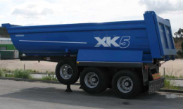 Tipping Semi-Trailers, 2 axles