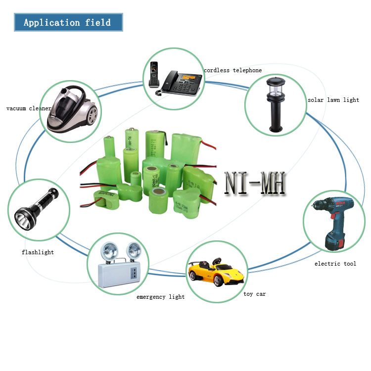 D type cylindrical 1.2V rechargeable nimh battery 10000mah