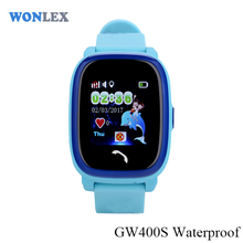 2017 Wonlex Brand GW400S 3G Smart Custom Logo Android Smart Kids GPS Watch Cheap Waterproof Watch Phone for Anti Lost