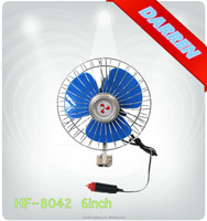 6inch 12V 24V CE Semi-closed Car Auto Fan Dashboard Fan