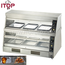 Commercial used electric food warmer for sale