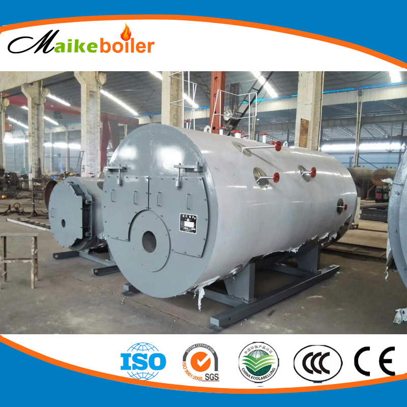 best price gas ioll refractory steam boiler for launtary