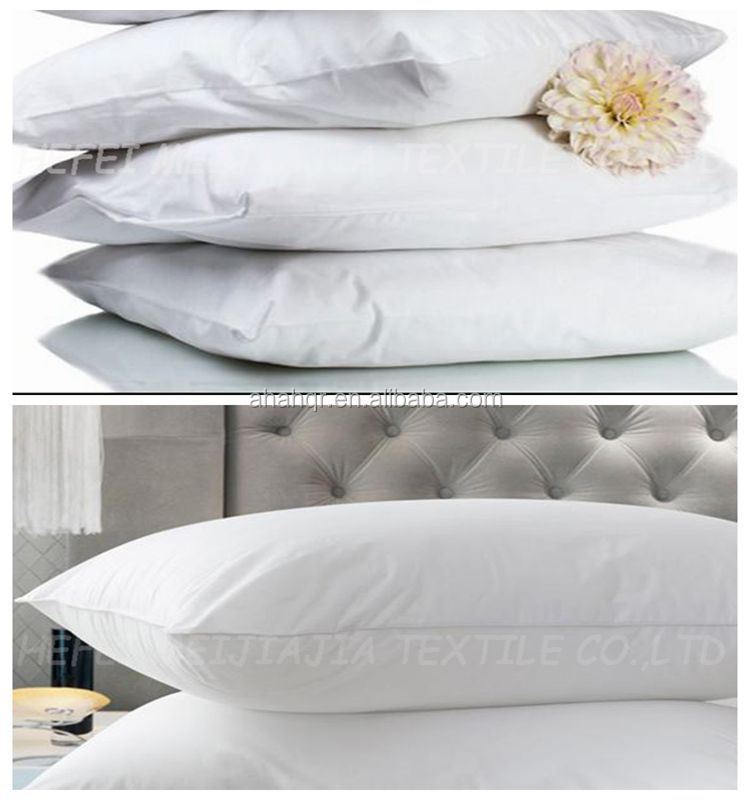 washed white duck feather pillow in pillow