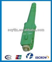SC APC Fiber Optic Connector