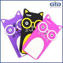 [NP-2686] Shy Cat Silicone Case for iphone 5, 5g Silicone cover