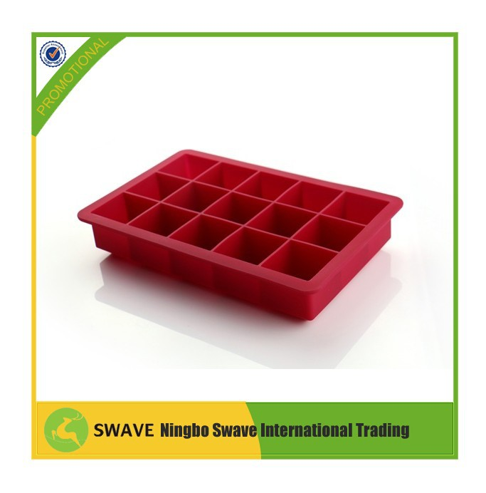 FDA certificate food grade material silicone ice cube mould
