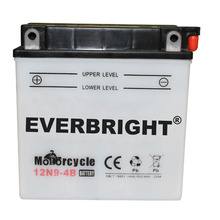 Rechargeable 12V 9AH motorcycle gel battery/ lead acid battery
