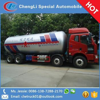 Customized capacity lpg tank truck for sale in Senegal