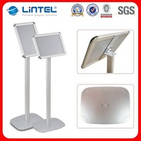 A4 A3 advertising bulletin exhibition road sign stand,aluminum display stand