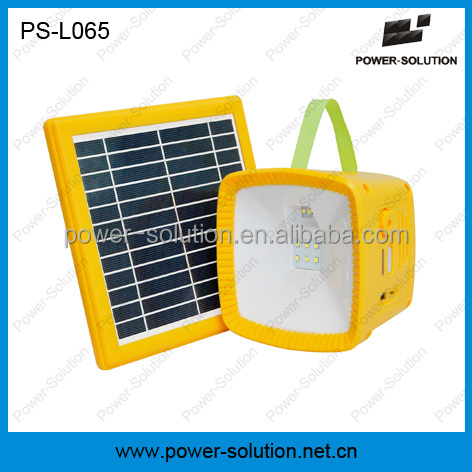 solar lantern with radio and phone charing fuction work as torch emergency lighting