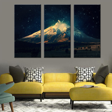 Starlit Mountain Canvas Set Wall Pictures Decor Living Room Modular Pictures for Wall Decoration Modern Pictures Drop Shipping