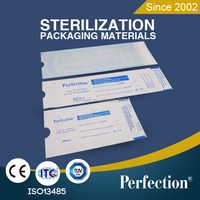 dental materials price disposable paper-film sterilization pouch self seal