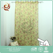 Shaoxing textile Hotel use Fashion grommet thermal lined curtains