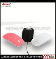 Hot Sale Cheap 3D Blank Wired Sublimation optical wired Mouse