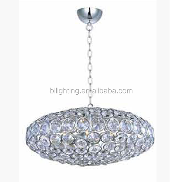 Modern round crystal euro light modern