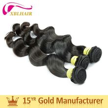 2017 new XBL hair competitive products loose wave bundles