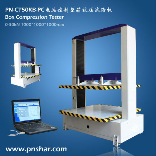 PC connection Box compression tester box compression strength tester carton compression tester