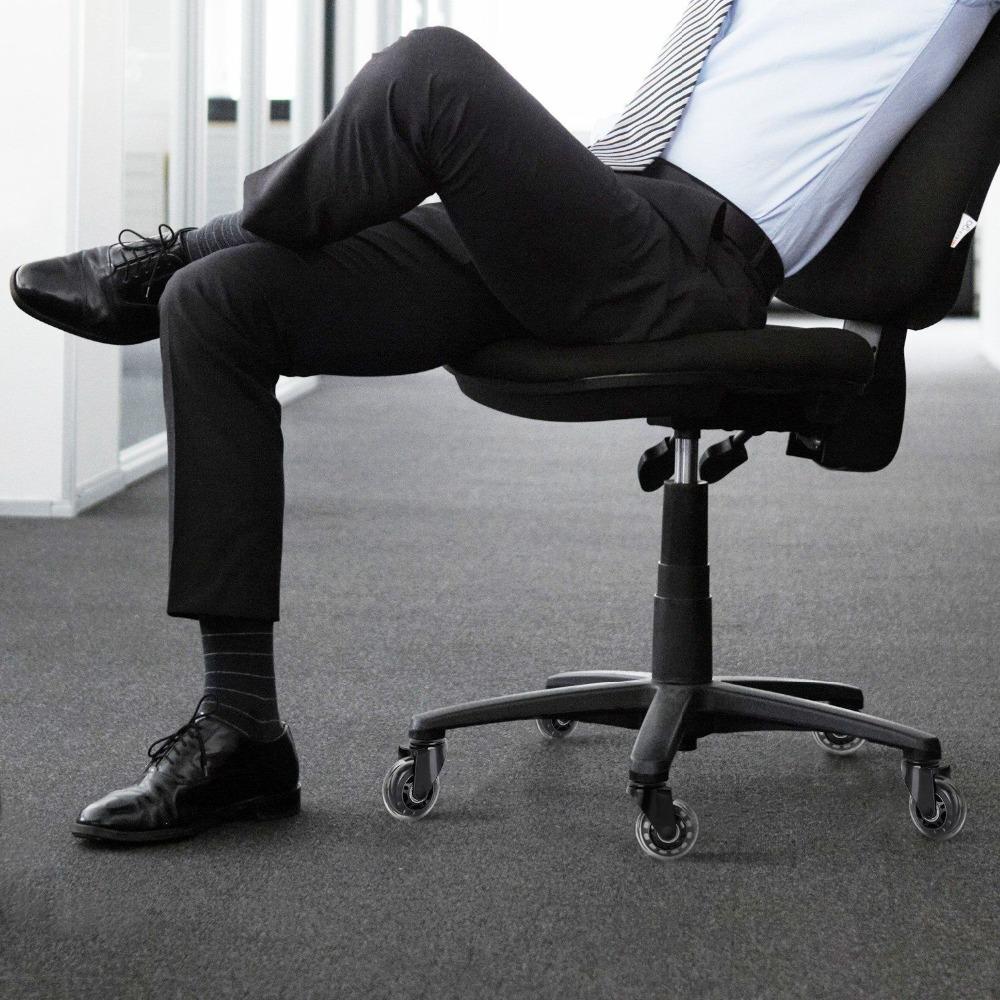 Pu silla de oficina castor muebles gemelos rueda giratoria - Muebles castor ...