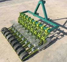 tractor trailed vegetable garden seeder for onions, cabbage, lettuce,carrot