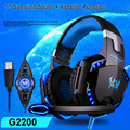 EACH G2200 7.1 Violent resistance head-mounted headphones net cafe the headset