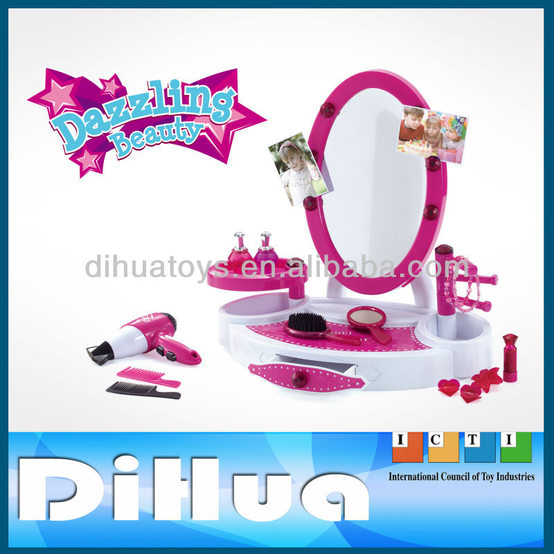 Girls Play Sets Plastic Children Dressing Table