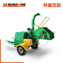 Runshine CE approved 22HP diesel engine wood chipper