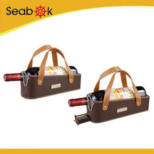 Christmas Gift 1-bottle Leather Wine Bottle Holder
