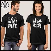 High quality new fashion design custom print couple t shirt