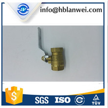 gas,water,oil Media and Manual Power brass ball valve