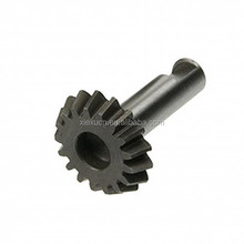 High quality small steel transmission gear for motorcycle parts custom supplier