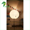 Hongyi Inflatable Tripod LED Balloon With Pole , Inflatable Stand Balloon Lights For Wedding Decoration