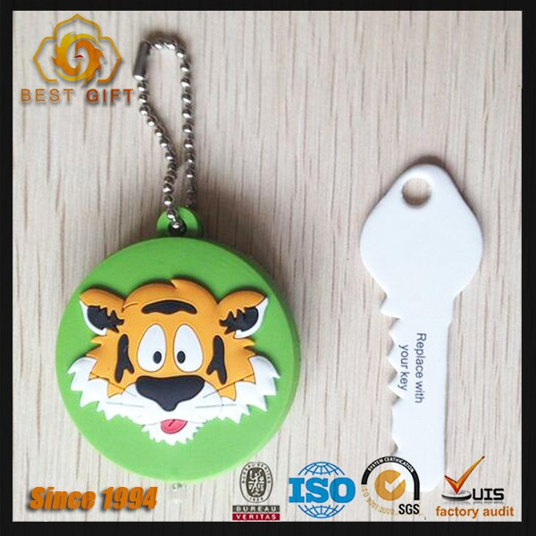 Custom lovely soft pvc key cap cover