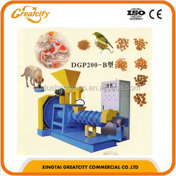 Pet Food Extruder/Fish Feed Pellet Making Machine