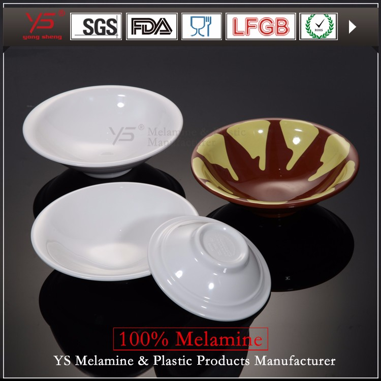 Various shapes 100 melamine wholesale mixing bowls