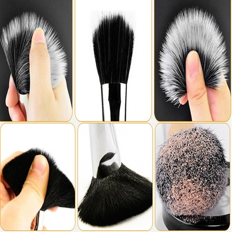2018 hot selling beauty tools 15pcs top goat hair bronze ferrule private label makeup brushes