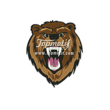 Embroidered Animal Patches Bear Custom Made Iron On Patches