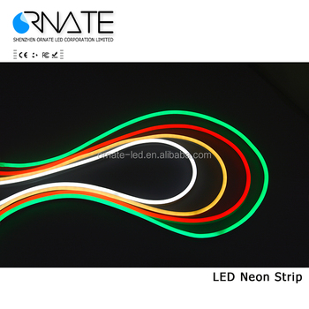 High volatge led flexible neon tube light 2835 92leds led rope light