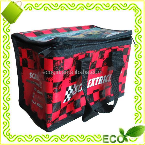 pp woven promotional cooling bag and promotional chilly bags