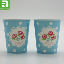 Insulated single wall Paper Cups_Offset Printing Paper Cups_ Custom Paper Cups